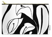 Abstract Lilies Carry-all Pouch