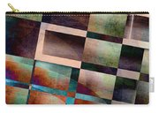 Abstract Lines And Shapes Carry-all Pouch