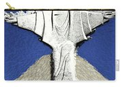 Abstract Lutheran Cross 5a Carry-all Pouch