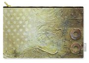 Abstract Modern Art Earth Tones Carry-all Pouch