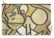 Funky Monkey - Zeeko Abstract Monkey Carry-all Pouch