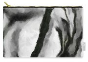 Abstract Monochome 154 Carry-all Pouch