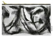 Abstract Monochome 158 Carry-all Pouch