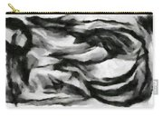 Abstract Monochome 162 Carry-all Pouch