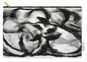 Abstract Monochome 164 Carry-all Pouch