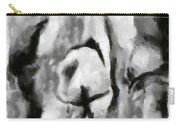 Abstract Monochome 165 Carry-all Pouch