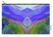 Abstract Mountains By Nixo Carry-all Pouch