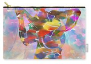 Abstract Musican Guitarist Carry-all Pouch