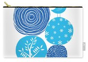 Abstract Nature Blue Carry-all Pouch