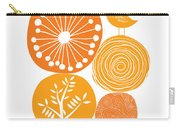 Abstract Nature Orange Carry-all Pouch