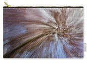 Abstract Of A Spring Tree In Bloom. In Camera Effect. Carry-all Pouch