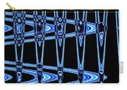 Abstract Of Blue Clock Works Carry-all Pouch