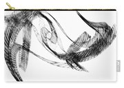 Abstract Of Dolphins In Courting Ritual Carry-all Pouch
