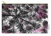 Abstract Of Ever Green Bush Carry-all Pouch
