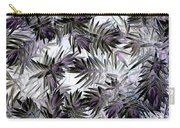Abstract Of Low Growing Evergreen Shrub Carry-all Pouch