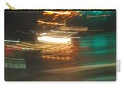 Abstract Of Racing Cars Carry-all Pouch