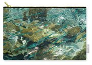 Abstract Of The Underwater World. Production By Nature Carry-all Pouch