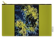 Abstract Of Tree And Leaves Carry-all Pouch
