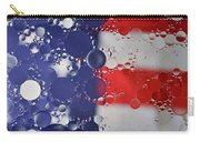 Abstract Oil And Water Usa 2 Carry-all Pouch