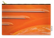 Abstract Orange '35 Carry-all Pouch