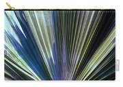 Abstract Palm Leaf Carry-all Pouch