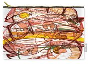 Abstract Pen Drawing Eight Carry-all Pouch
