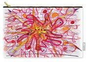 Abstract Pen Drawing Fifteen Carry-all Pouch