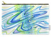 Abstract Pen Drawing Forty Carry-all Pouch