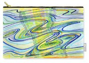 Abstract Pen Drawing Forty-one Carry-all Pouch