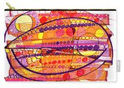 Abstract Pen Drawing Fourteen Carry-all Pouch