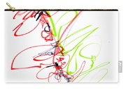 Abstract Pen Drawing Seventy Carry-all Pouch