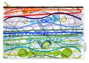 Abstract Pen Drawing Sixteen Carry-all Pouch