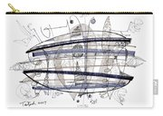 Abstract Pen Drawing Thirty-four Carry-all Pouch