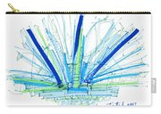 Abstract Pen Drawing Twenty-nine Carry-all Pouch