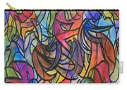 Abstract Pen Carry-all Pouch