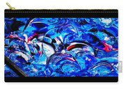 Abstract Perfection  12 Carry-all Pouch