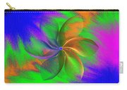Abstract Pinwheel Carry-all Pouch