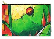 Abstract Pop Art Original Painting Carry-all Pouch