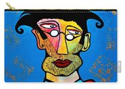 Abstract Professor Carry-all Pouch