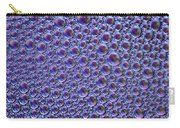 Abstract Purple Alien Bubble Skin Carry-all Pouch