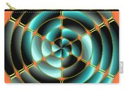 Abstract Radial Object Carry-all Pouch
