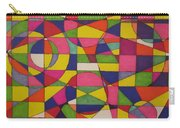 Abstract Rainbow Of Color Carry-all Pouch