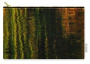 Abstract Reeds Triptych Bottom Carry-all Pouch