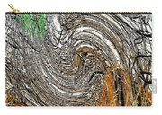 Abstract Reeds Carry-all Pouch