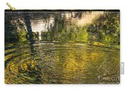 Abstract River Reflection Carry-all Pouch
