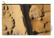 Abstract Rock With Diagonal Line Carry-all Pouch