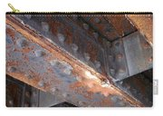 Abstract Rust 3 Carry-all Pouch