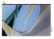 Abstract Sailcloth Ycc103 Carry-all Pouch