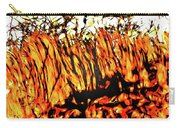 Abstract Saw Grass Iv Carry-all Pouch