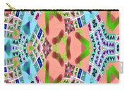 Abstract Seamless Pattern - Blue Pink Green Purple Carry-all Pouch